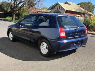 2002 Mitsubishi Mirage CE MY2002 Blue 5 Speed Manual Hatchback