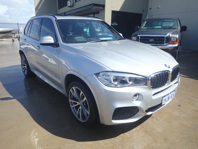 Used BMW X5 F15 MY18 sDrive 25d M Sport Wangara, 2018 BMW X5 F15 MY18 sDrive 25d M Sport Silver Leaf Met 8 Speed Automatic Wagon