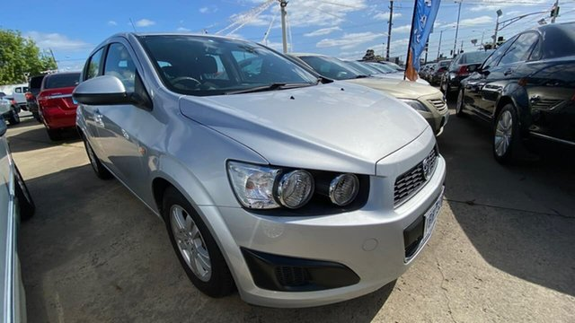 Used Holden Barina TM MY13 CD Maidstone, 2013 Holden Barina TM MY13 CD Silver 6 Speed Automatic Hatchback