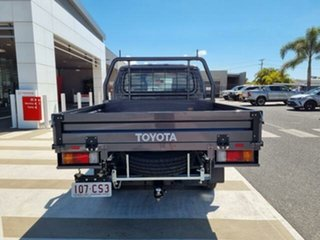 2020 Toyota Landcruiser VDJ79R GXL Double Cab Graphite 5 Speed Manual Cab Chassis.