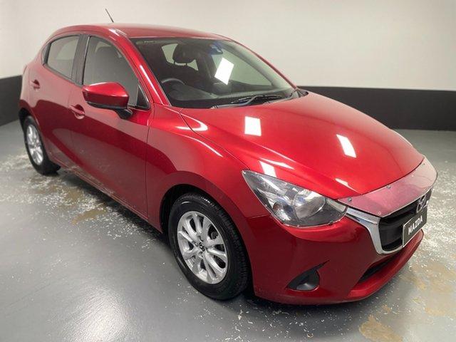 Used Mazda 2 DJ2HAA Maxx SKYACTIV-Drive Rutherford, 2017 Mazda 2 DJ2HAA Maxx SKYACTIV-Drive Red 6 Speed Sports Automatic Hatchback