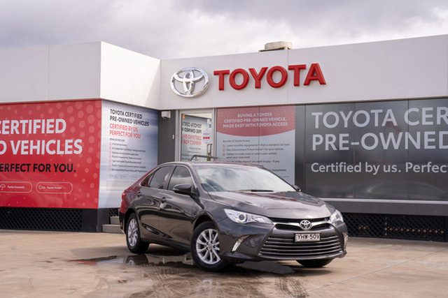 Pre-Owned Toyota Camry ASV50R Altise Guildford, 2017 Toyota Camry ASV50R Altise Graphite 6 Speed Sports Automatic Sedan