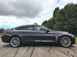2018 BMW 4 Series F36 LCI 420i Gran Coupe Luxury Line Brown 8 Speed Sports Automatic Hatchback.
