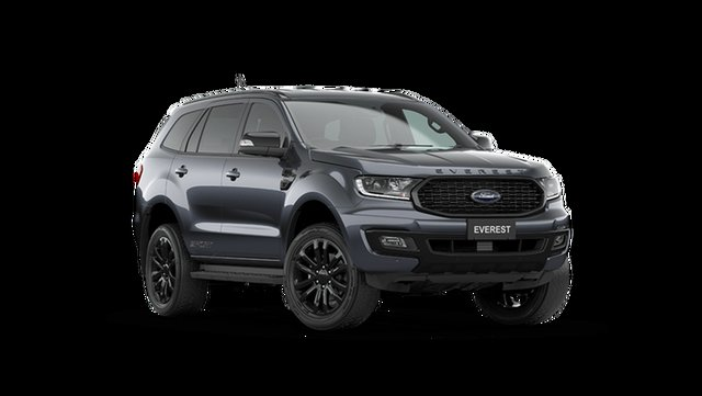 New Ford Everest Sport Hamilton, 2021 Ford Everest UA II Sport Meteor Grey 6 Speed Automatic