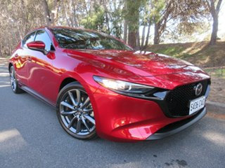 2019 Mazda 3 BP2HLA G25 SKYACTIV-Drive GT Red 6 Speed Sports Automatic Hatchback.