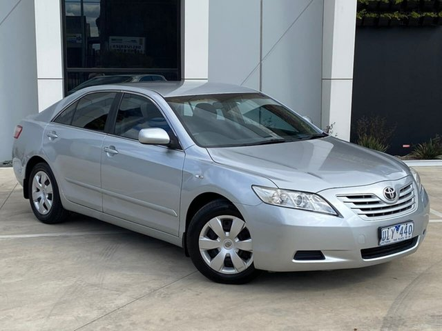 Used Toyota Camry ACV40R Altise Thomastown, 2006 Toyota Camry ACV40R Altise Silver 5 Speed Automatic Sedan
