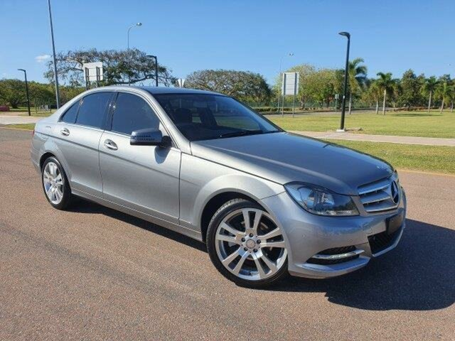 Used Mercedes-Benz C-Class W204 MY12 C250 CDI BlueEFFICIENCY 7G-Tronic + Elegance Townsville, 2012 Mercedes-Benz C-Class W204 MY12 C250 CDI BlueEFFICIENCY 7G-Tronic + Elegance Palladium 7 Speed