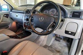 2000 Mercedes-Benz M-Class W163 MY2000 ML320 Luxury Silver 5 Speed Sports Automatic Wagon.