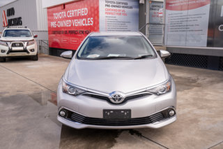 2018 Toyota Corolla ZRE182R Ascent Sport S-CVT Silver Pearl 7 Speed Constant Variable Hatchback