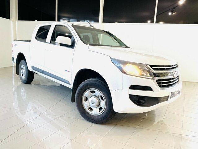 Used Holden Colorado RG MY16 LS Crew Cab Deer Park, 2016 Holden Colorado RG MY16 LS Crew Cab White 6 Speed Sports Automatic Utility