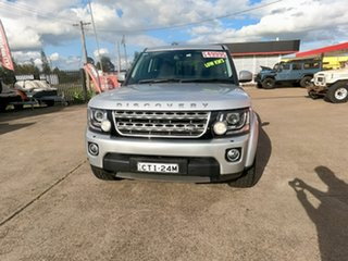 2014 Land Rover Discovery Series 4 L319 MY15 TDV6 Silver 8 Speed Sports Automatic Wagon