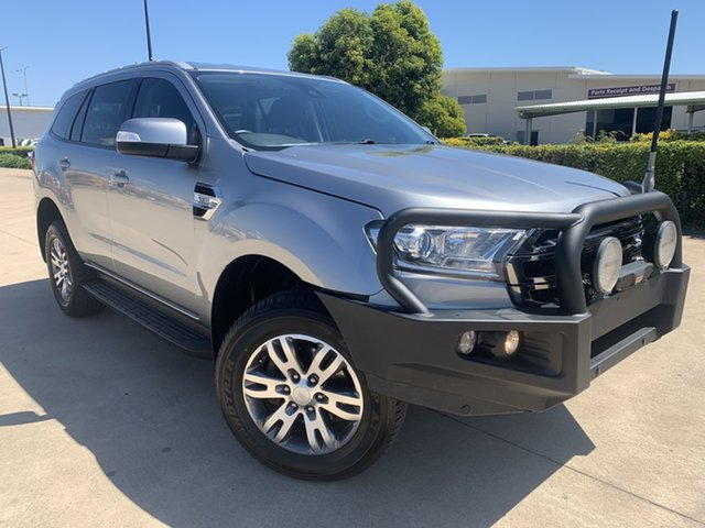 Used Ford Everest UA Trend Townsville, 2017 Ford Everest UA Trend Grey/070817 6 Speed Sports Automatic SUV