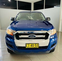2016 Ford Ranger PX MkII XL Hi-Rider Blue 6 Speed Sports Automatic Utility.