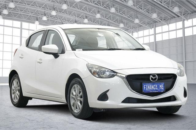 Used Mazda 2 DJ2HAA Maxx SKYACTIV-Drive Victoria Park, 2014 Mazda 2 DJ2HAA Maxx SKYACTIV-Drive White 6 Speed Sports Automatic Hatchback
