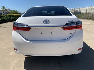 2018 Toyota Corolla ZRE182R ZR S-CVT White/270818 7 Speed Constant Variable Hatchback