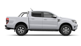 2020 Ford Ranger PX MkIII XLT Hi-Rider Double Cab Arctic White 6 Speed Automatic Pick Up.