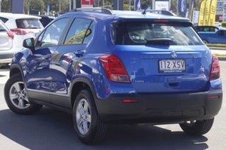 2016 Holden Trax TJ MY16 LS Blue 6 Speed Automatic Wagon.