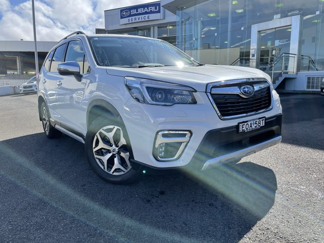 Demo Subaru Forester S5 MY21 Hybrid L CVT AWD Brookvale, 2021 Subaru Forester S5 MY21 Hybrid L CVT AWD Crystal White Pearl 7 Speed Constant Variable Wagon