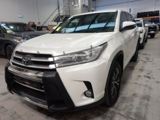 2019 Toyota Kluger GSU50R GX 2WD Crystal Pearl 8 Speed Sports Automatic Wagon.
