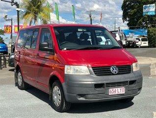 2005 Volkswagen Transporter T5 Red 6 Speed Sports Automatic Van.
