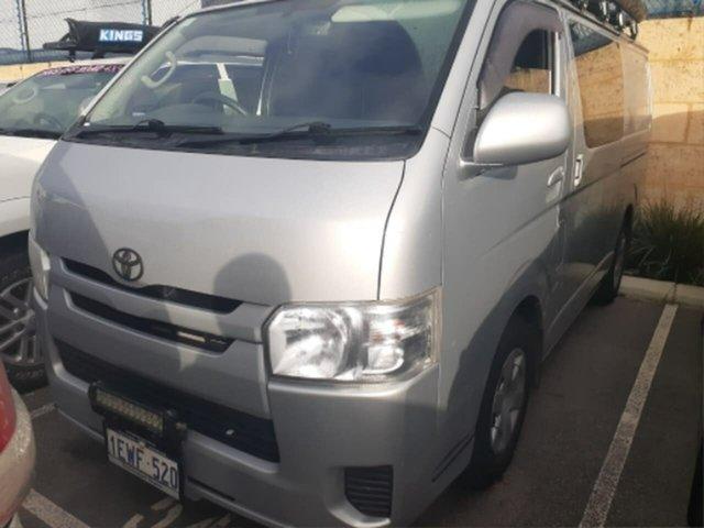 Pre-Owned Toyota HiAce KDH201R MY15 LWB Rockingham, 2015 Toyota HiAce KDH201R MY15 LWB Quicksilver 4 Speed Automatic Van