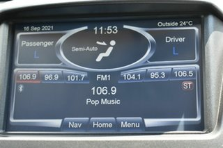 2014 Ford Falcon FG MK2 XR6T Black 6 Speed Manual Utility