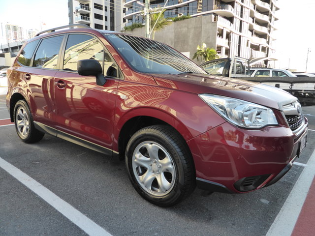 Used Subaru Forester MY14 2.5I Southport, 2014 Subaru Forester MY14 2.5I Red Continuous Variable Wagon