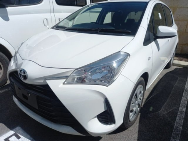 Pre-Owned Toyota Yaris NCP130R MY17 Ascent Rockingham, 2017 Toyota Yaris NCP130R MY17 Ascent Glacier White 5 Speed Manual Hatchback