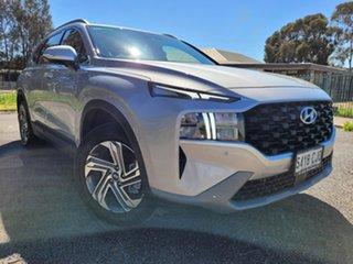 2021 Hyundai Santa Fe Tm.v3 MY21 Active Silver 8 Speed Sports Automatic Wagon.