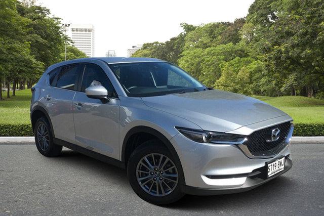 Used Mazda CX-5 KF4WLA Maxx SKYACTIV-Drive i-ACTIV AWD Sport Paradise, 2018 Mazda CX-5 KF4WLA Maxx SKYACTIV-Drive i-ACTIV AWD Sport Billet Silver 6 Speed Sports Automatic