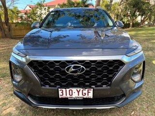 2018 Hyundai Santa Fe TM MY19 Highlander Grey 8 Speed Sports Automatic Wagon.