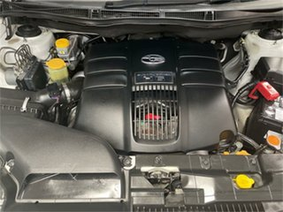 2010 Subaru Tribeca MY10 3.6R Premium (7 Seat) White 5 SP AUTO ELEC SPORTSHIFT Wagon
