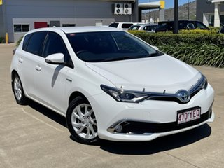 2018 Toyota Corolla ZWE186R Hybrid E-CVT White/200718 1 Speed Constant Variable Hatchback.