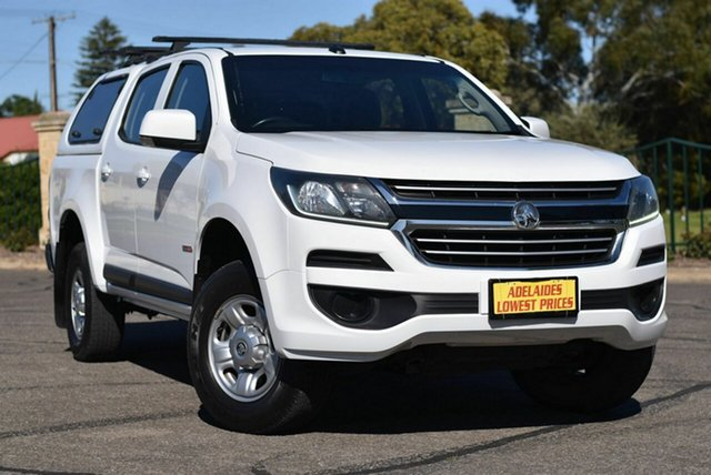 Used Holden Colorado RG MY17 LS Pickup Crew Cab 4x2 Enfield, 2016 Holden Colorado RG MY17 LS Pickup Crew Cab 4x2 White 6 Speed Sports Automatic Utility