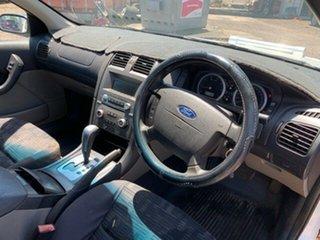 2003 Ford Falcon BA White 4 Speed Auto Active Select Utility