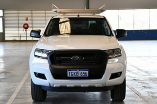 2017 Ford Ranger PX MkII MY17 XL 2.2 Hi-Rider (4x2) Cool White 6 Speed Automatic Crew Cab Pickup
