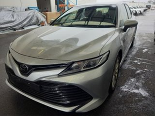 2018 Toyota Camry ASV70R Ascent Silver Pearl 6 Speed Automatic Sedan.