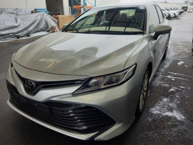 Pre-Owned Toyota Camry ASV70R Ascent Rockingham, 2018 Toyota Camry ASV70R Ascent Silver Pearl 6 Speed Automatic Sedan