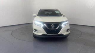 2018 Nissan Qashqai J11 MY18 TI White Continuous Variable Wagon