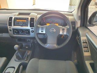 2011 Nissan Navara D40 ST Black 6 Speed Manual Utility.
