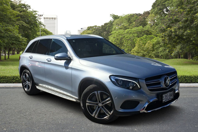 Used Mercedes-Benz GLC-Class X253 GLC250 9G-Tronic 4MATIC Paradise, 2016 Mercedes-Benz GLC-Class X253 GLC250 9G-Tronic 4MATIC Billet Silver 9 Speed Sports Automatic
