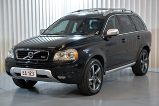 2013 Volvo XC90 P28 MY13 R-Design Geartronic Black 6 Speed Sports Automatic Wagon.