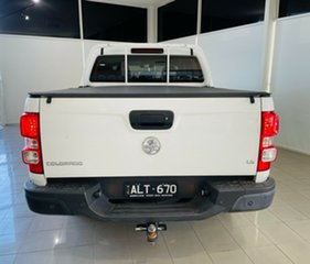 2016 Holden Colorado RG MY16 LS Crew Cab White 6 Speed Sports Automatic Utility