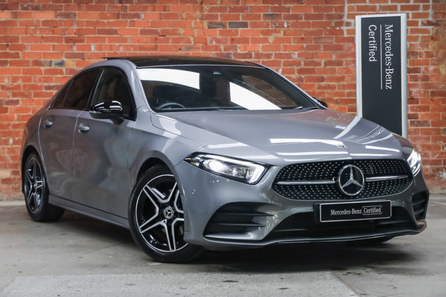 Certified Pre-Owned Mercedes-Benz A-Class V177 800+050MY A180 DCT Mulgrave, 2020 Mercedes-Benz A-Class V177 800+050MY A180 DCT Mountain Grey 7 Speed