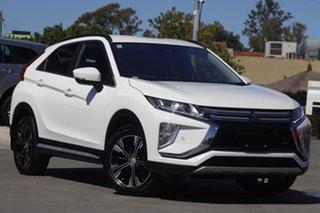 2018 Mitsubishi Eclipse Cross YA MY19 LS 2WD White 8 Speed Constant Variable Wagon.