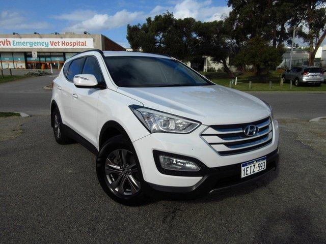 Used Hyundai Santa Fe DM Active (4x4) Wangara, 2013 Hyundai Santa Fe DM Active (4x4) White 6 Speed Automatic Wagon