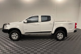 2014 Holden Colorado RG MY14 LX Crew Cab White 6 speed Automatic Cab Chassis