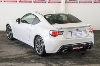 2015 Toyota 86 ZN6 MY15 GTS White Liquid 6 Speed Auto Sequential Coupe.