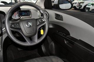 2014 Holden Barina TM MY15 CD Trio White 6 Speed Automatic Hatchback