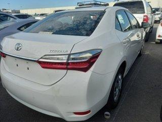2019 Toyota Corolla ZRE172R Ascent S-CVT Glacier White 7 Speed Constant Variable Sedan.